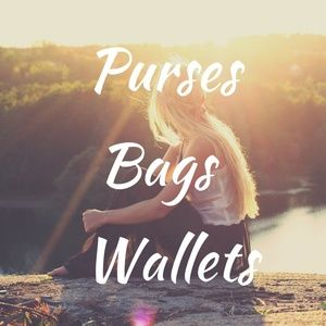 PURSES, BAGS, TOTES, BACKPACKS, CLUTCHES, WALLETS